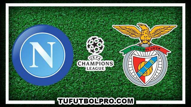 Ver Napoli vs Benfica EN VIVO Por Internet Hoy 28 de Septiembre 2016