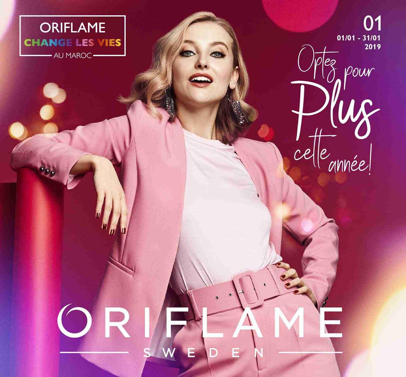 Catalogue Oriflame Janvier - 2019 Maroc