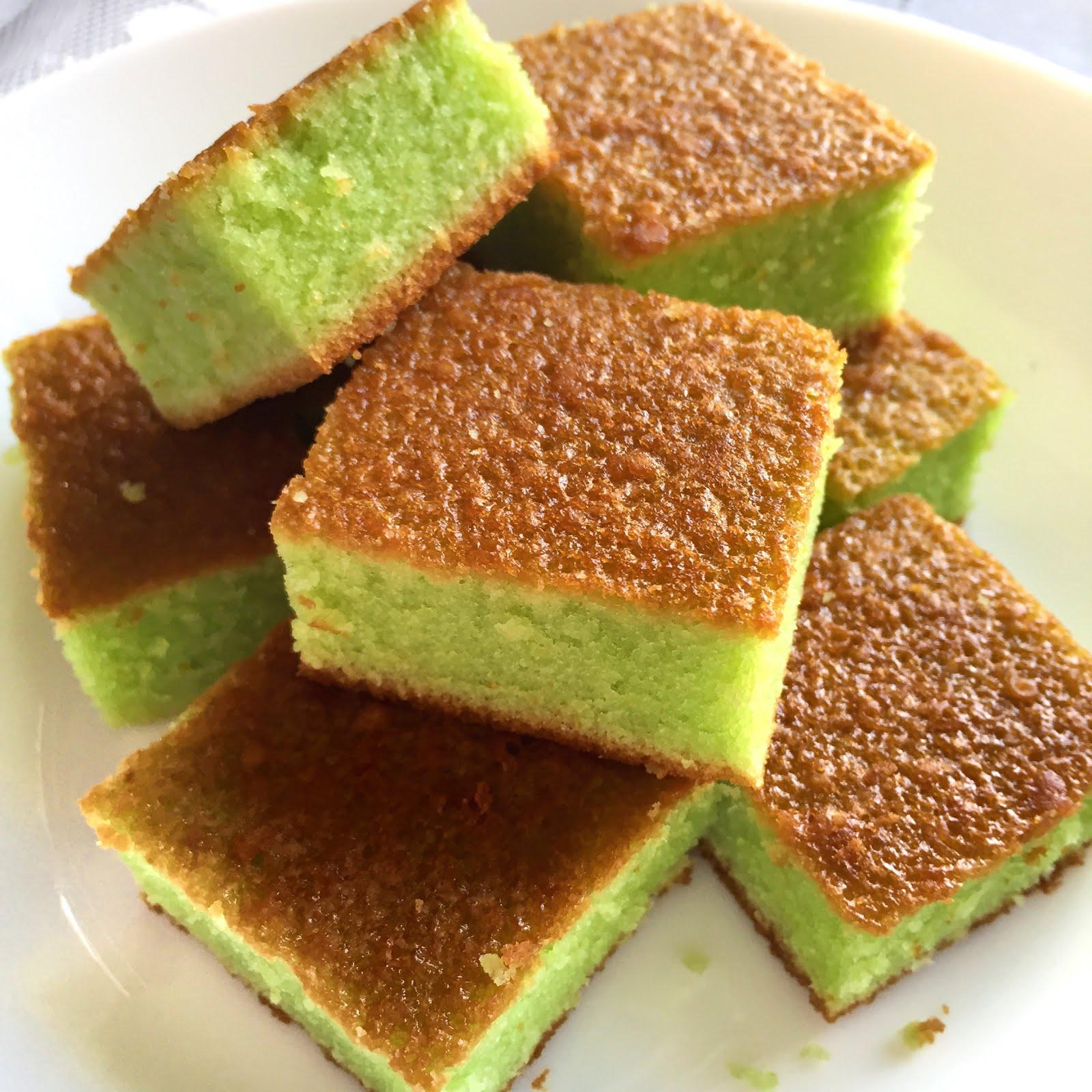 Pandan Cake Recipe Using Pandan Essence