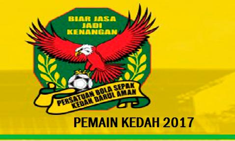 Pemain Kedah 2017