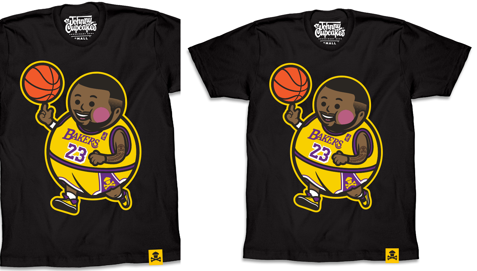 "6991abc5b The Blot Says...  LA Lakers ""Lejohnny Big Kid"" Lebron James T-Shirt ..."