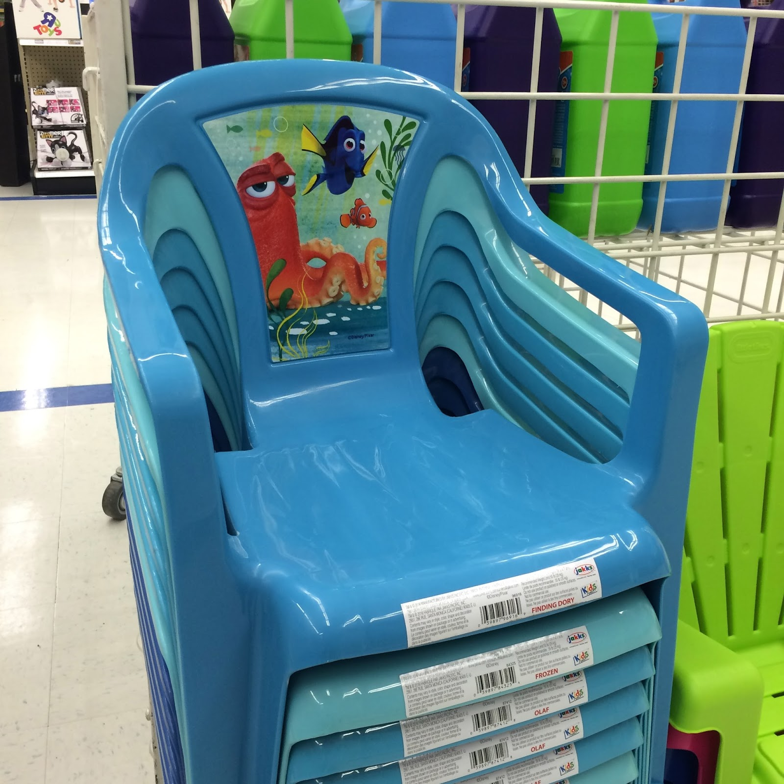 cvs beach chairs invacare transport chair replacement parts dan the pixar fan: events: finding dory merch release (swim gear, water toys, food items, crafts ...