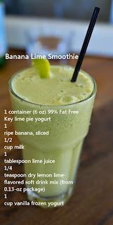 lowfat banana smoothie