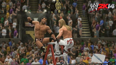 Download Game WWE Smackdown VS Raw 2K14 ISO/CSO PSP PPSSPP Ukuran Kecil