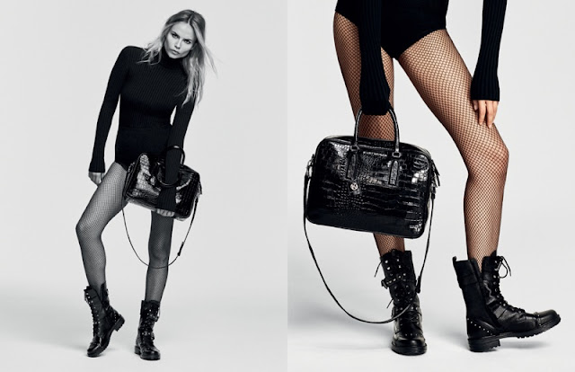 Kurt Geiger Fall/Winter 2016 Campaign featuring Natasha Poly
