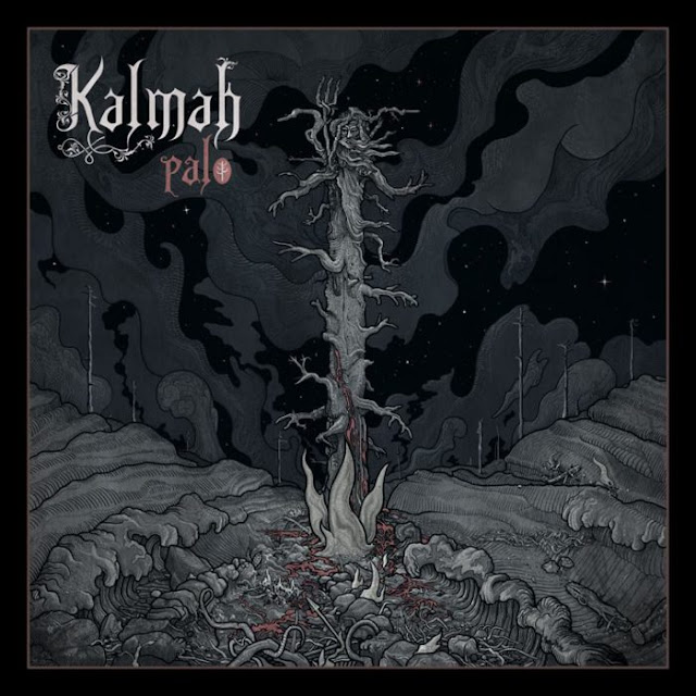 Kalmah - Palo artwork 2018