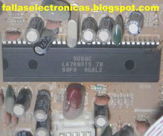 microprocesador televisor