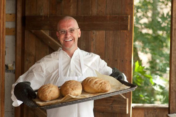 fresh bread at Tassajara Zen Mountain Center in Carmel Valley California