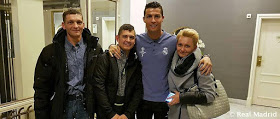 Young boy who woke up from a coma meets Idol Cristiano Ronaldo