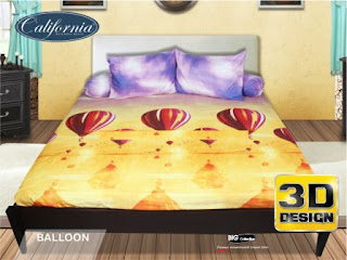 Sprei california 3D Balloon