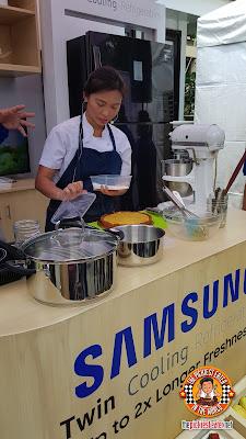 Samsung Twin Cooling Refrigerator , Chef Kristine Lotilla
