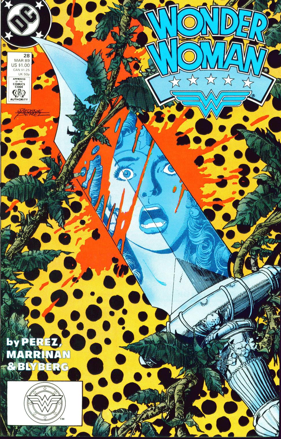 Read online Wonder Woman (1987) comic -  Issue #28 - 2