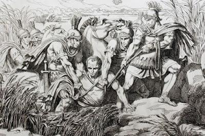 Marius captured in Africa