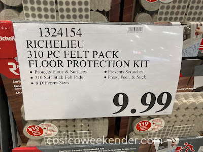 Deal for the Richelieu Surface Savers Household Kit at Costco