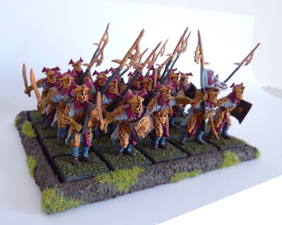 Easterling swordsmen and halberdiers