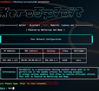 Cara Install Xerosploit tanpa Error