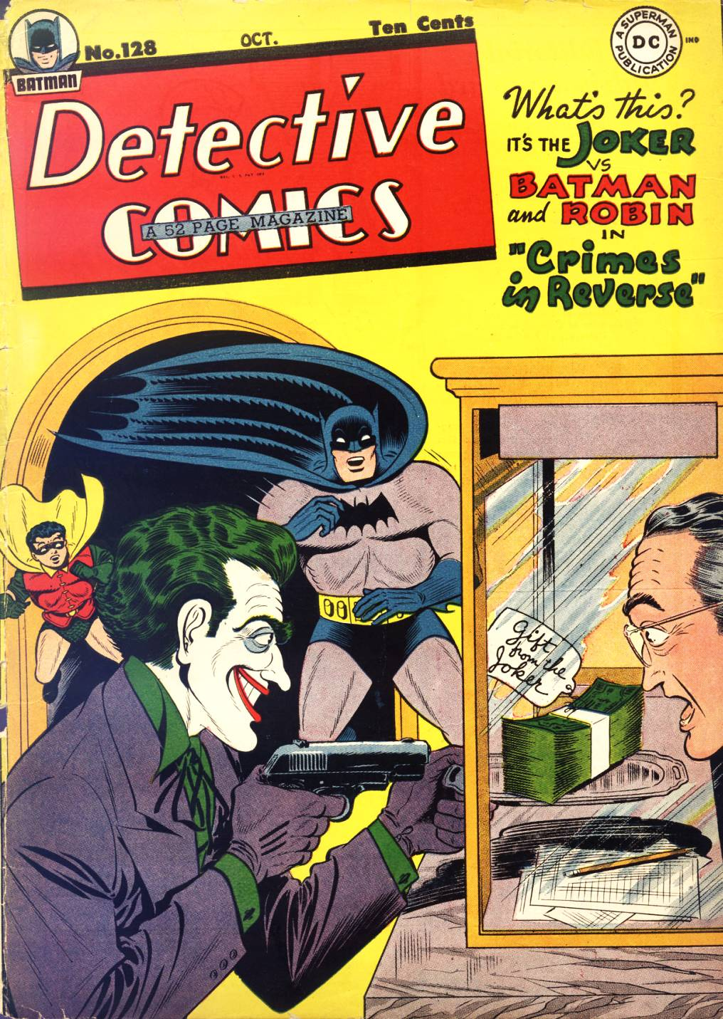 Detective Comics (1937) issue 128 - Page 1