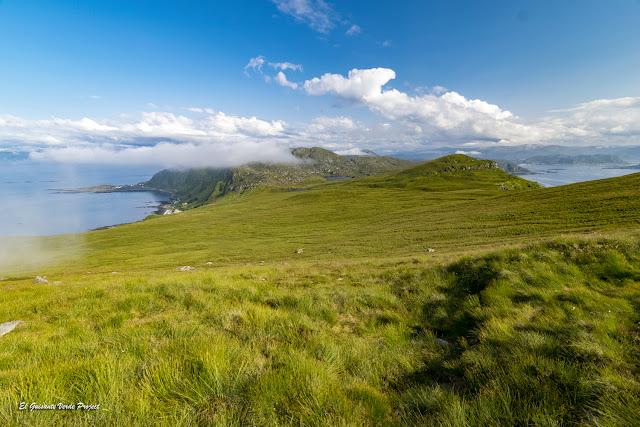 Centro de la Isla de Runde, Noruega por El Guisante Verde Project