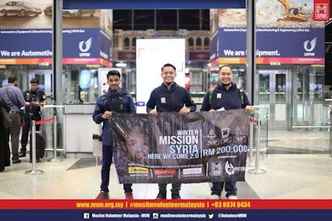 Jom Menyumbang Misi Kemanusiaan Winter Mission Syria 3.0 Melalui Muslim Volunteer Malaysia