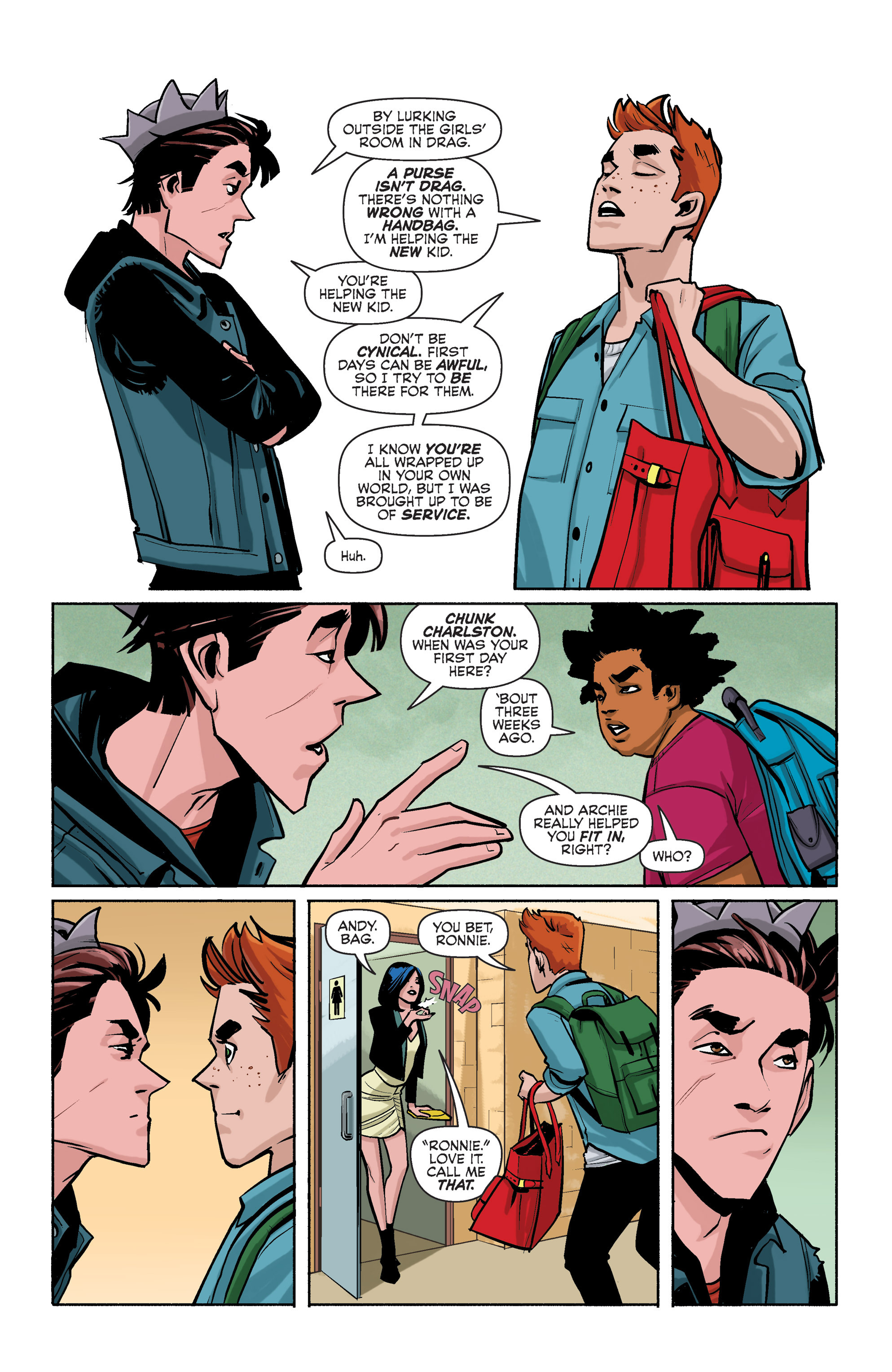 Read online Archie (2015) comic -  Issue #3 - 7