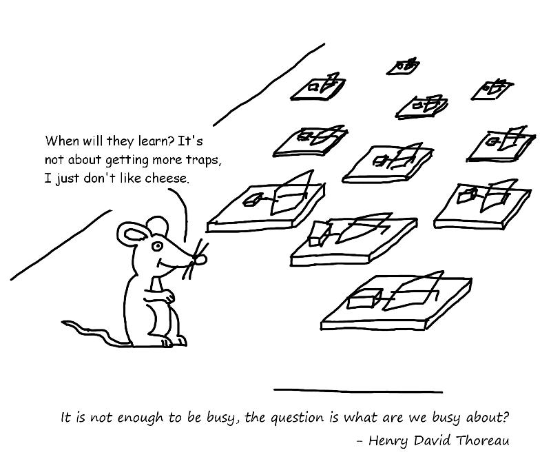 Cartoon Tester: Busy
