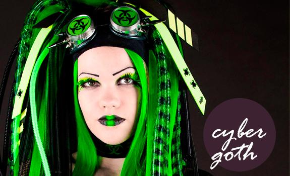 Estilo Cyber Goth