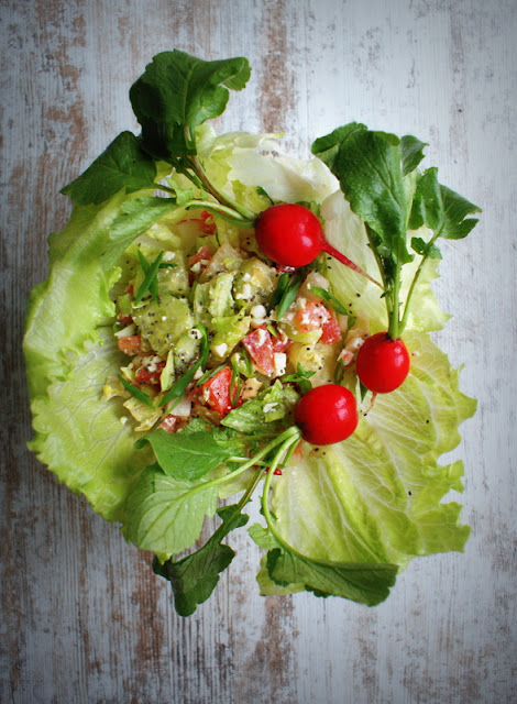 olej z ostropestu,szybka sałatka,nasiona chia,salatka fitness, bez kalorii,dietetyczna sałatka,