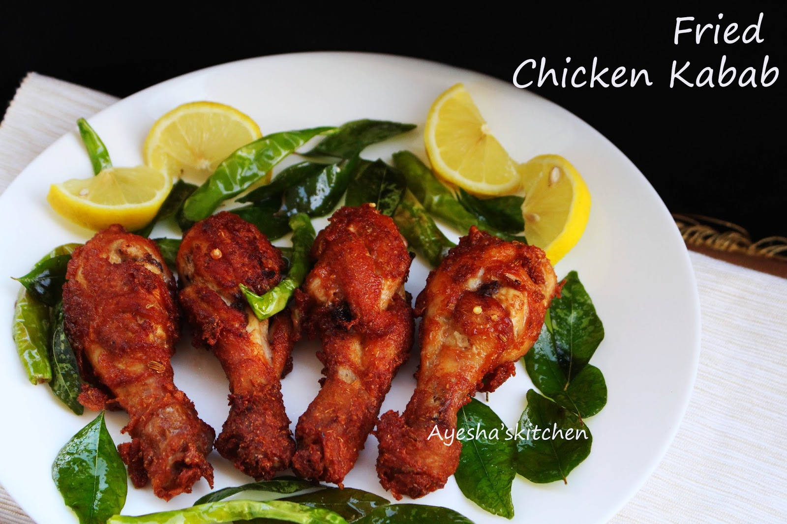 So Lets See How To Make Perfect Spicy Yummy Fried Chicken Kabab At Home  Sure, You Will Love This Enjoy