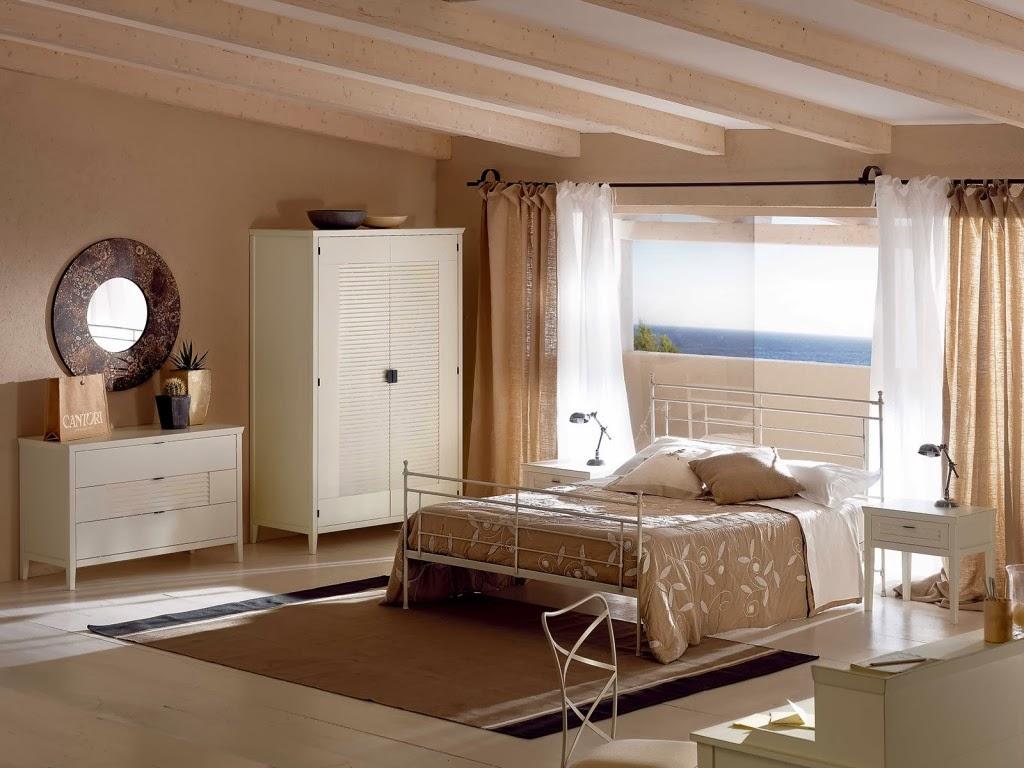 Habitaciones decoradas con colores claros dormitorios for 6 cuartos decorados con estilo