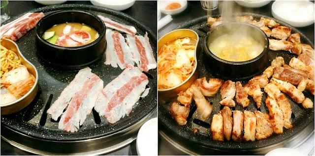 Hàn Quốc đặc biệt được yêu thích bởi món thịt nướng