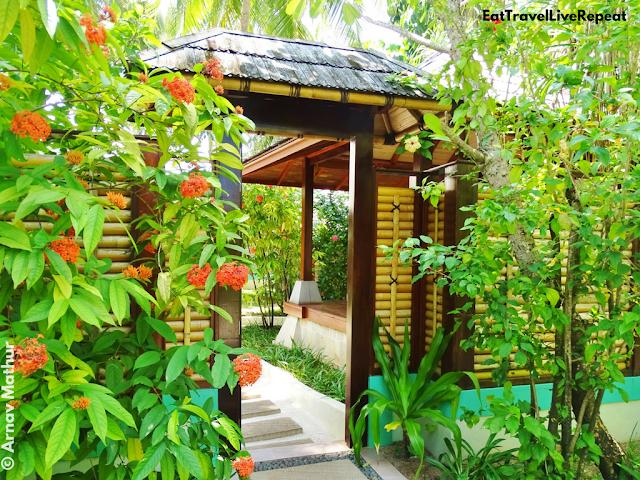 Araamu Spa Maldives Entrance Outdoor Pavilions