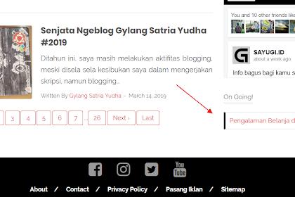 Cara Menambahkan Widget Artikel Khusus Di Blog