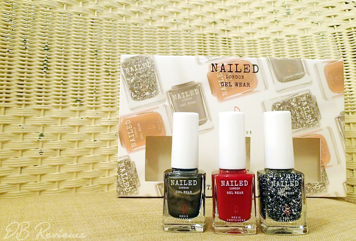 Instant Glamour Trio Christmas Gift Set from Nailed London