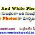 Black and White Photos ని అతి సులభం గా Colour  Photos గా మార్చటం ఎలా ?