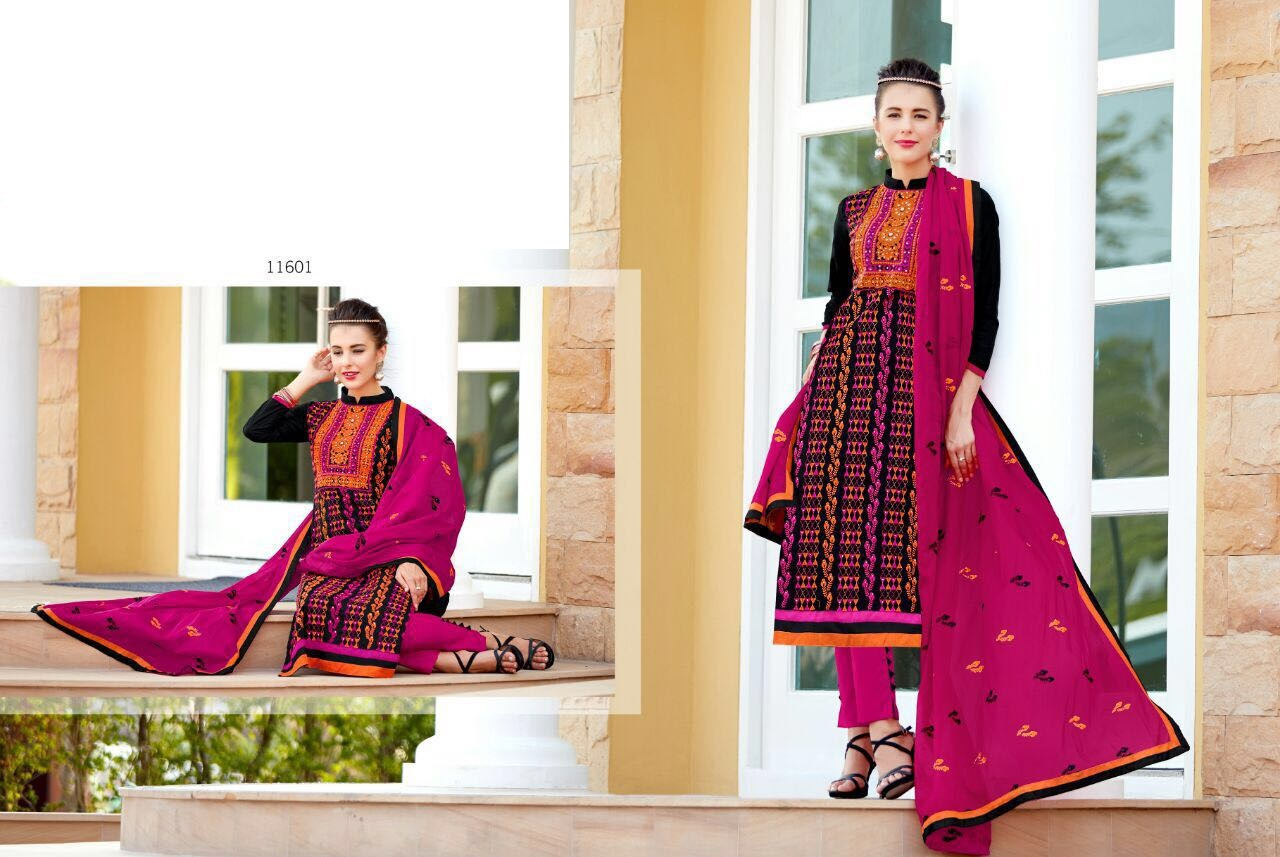 VENEE – New Latest Cotton Dress Material