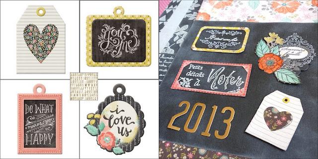 homemade chalkboard embellishments