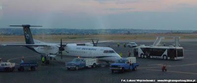 SX-OBE z greckich linii Olympic Air, czyli Dash 8