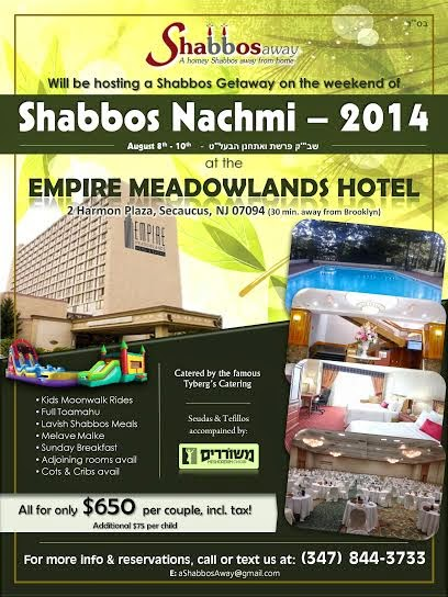 Why is every Shabbos nachamu retreat sooo expensive??? | Imamother