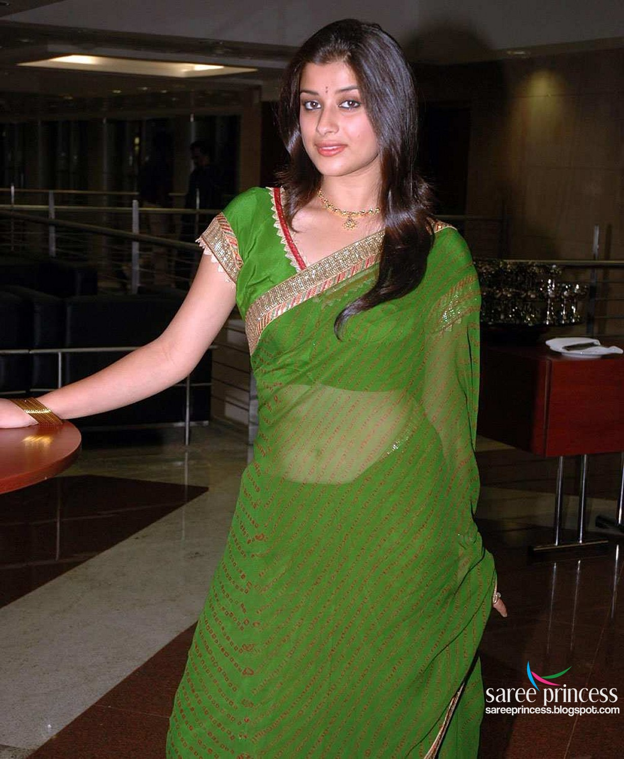 Sexiest See Through Saree