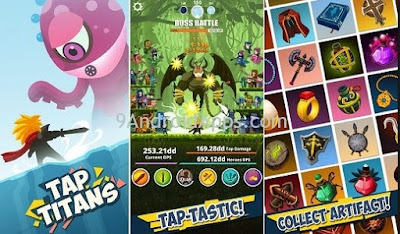 Tap Titans V4.1.1 Download latest version