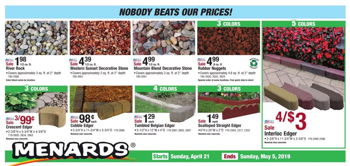 Menards Weekly Ad April 21 - May 5, 2019 - Coupons and Deals