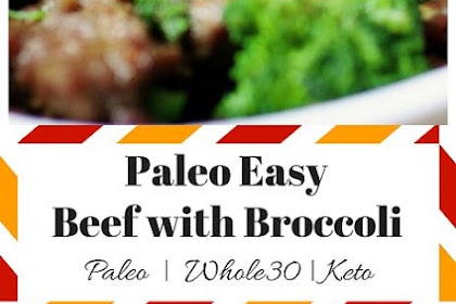 Paleo Beef with Broccoli