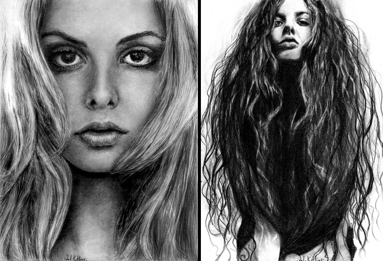 11-Tamsin-Egerton-Valerie-Kotliar-Celebrities-and-Unknown-Immortalised-in-Realistic-Drawings-www-designstack-co