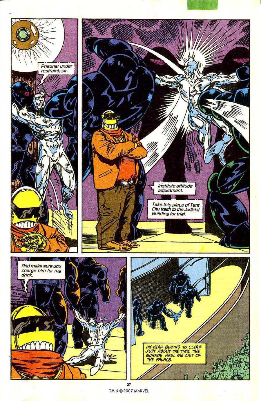 Read online Silver Surfer (1987) comic -  Issue #42 - 29