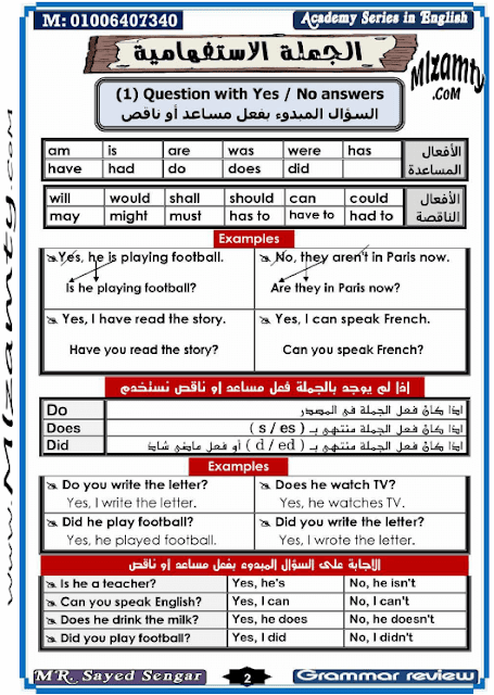 كتاب شرح قواعد اللغة الانجليزية للمبتدئين