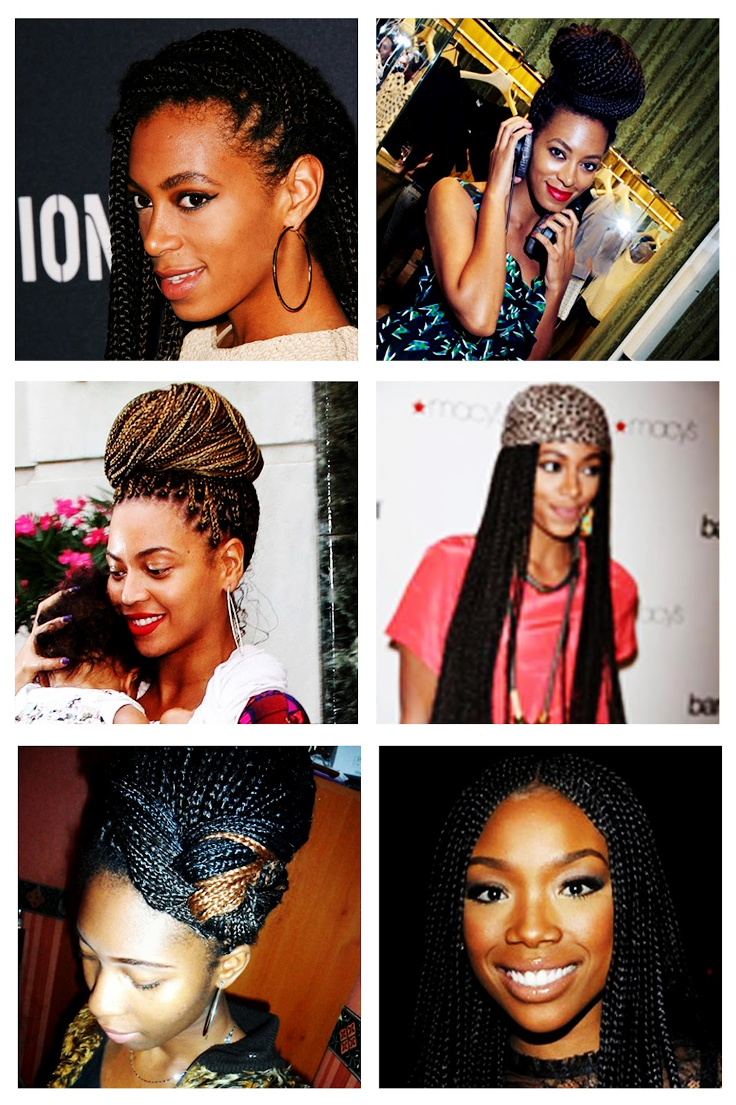 Box Braids Hairstyles For Black Women