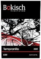 bottle shot of Bokisch Vineyards 2013 Tempranillo
