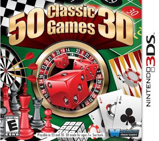 Free Download 50 Classic Games 3D 3DS CIA USA