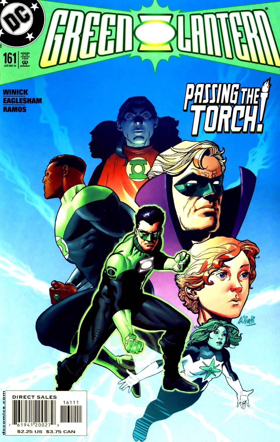 Green Lantern (1990) 161 Page 1