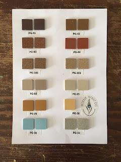 Porselen mozaik malzemeleri